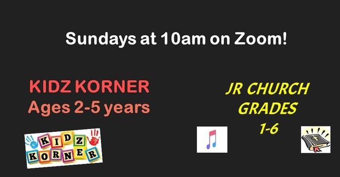 Kidz Korner & FBC Jr. Church