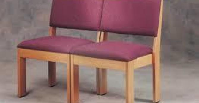 Questions & Answers Regarding Chairs in the Sanctuary image
