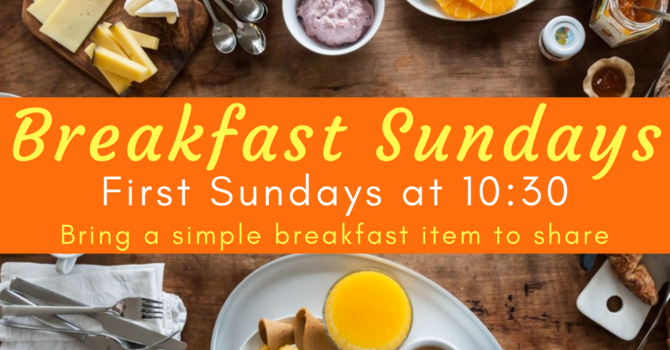 Breakfast Sunday