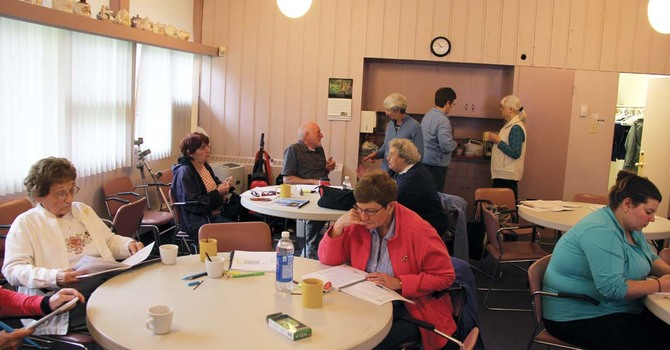 A Very Busy Saturday at St. Thomas, Chilliwack image