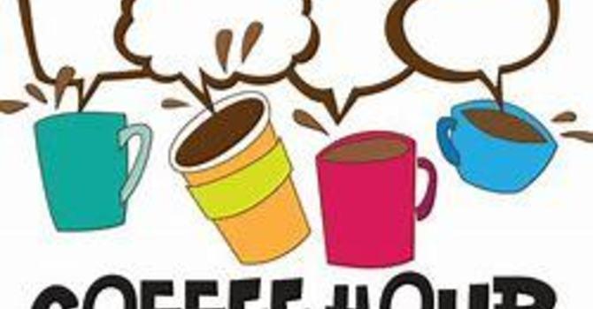 Virtual Coffee Hour starts Sunday! image