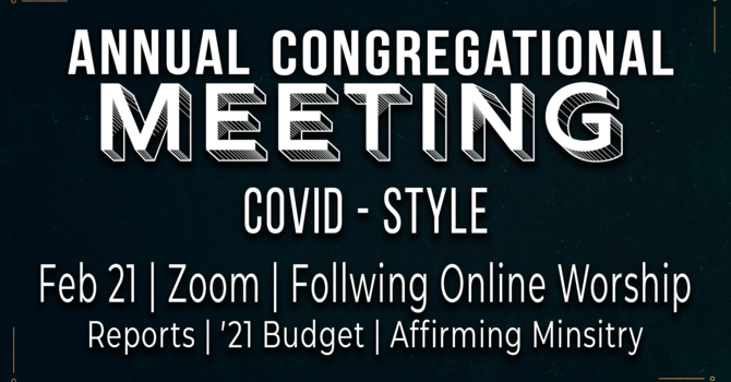 Annual Congregational Meeting image
