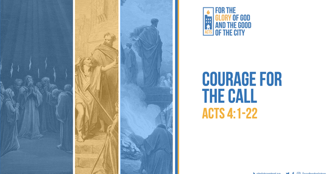 Courage For The Call
