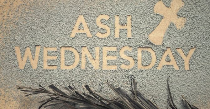 Ash Wednesday - a history image