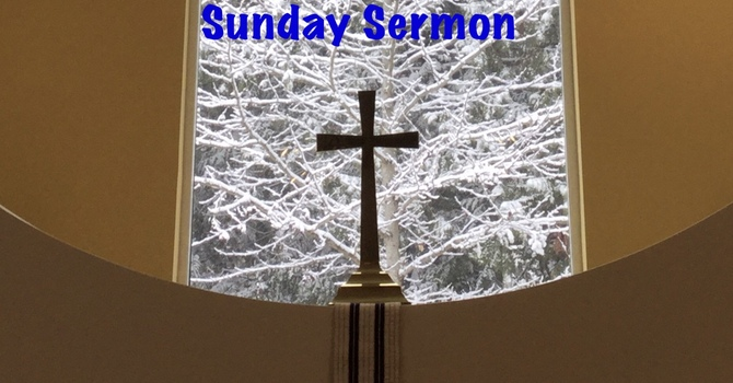 Sermon for Transfiguration Sunday