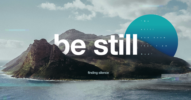 Give me a Break!  The Importance of Being Still.