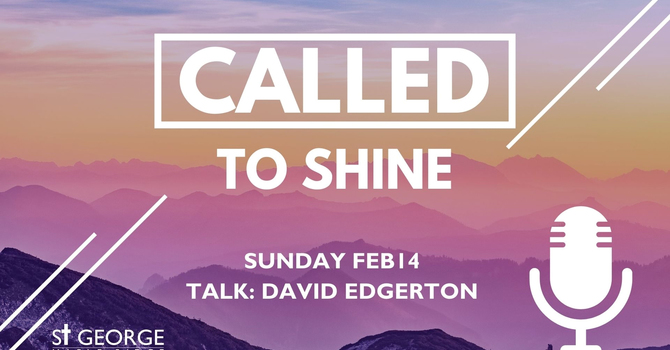"""Talk """"Called to Shine"""" image"""