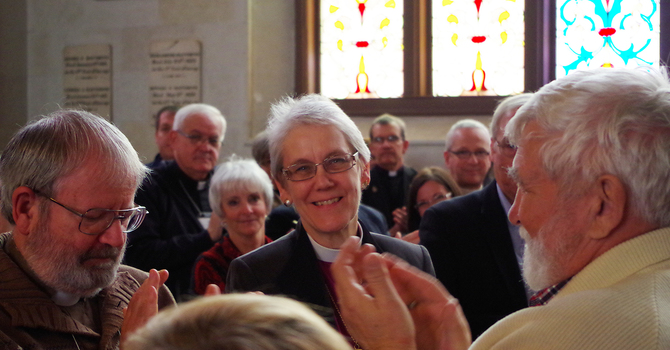 Rt. Rev. Linda Nicholls elected coadjutor bishop for the Anglican Diocese of Huron image