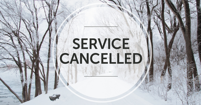 Service Canceled Wednesday 2/17/2021 image