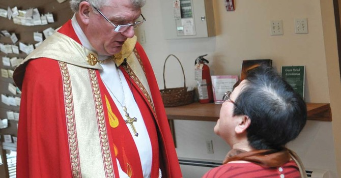 Holy Week and Easter Around the Diocese in Photos image