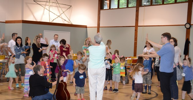 Messy Church was a Success! image