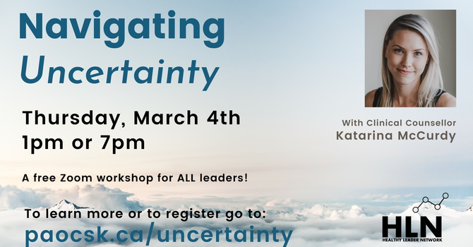 Navigating Uncertainty image