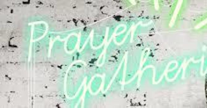 Weekly Zoom Prayer Gathering