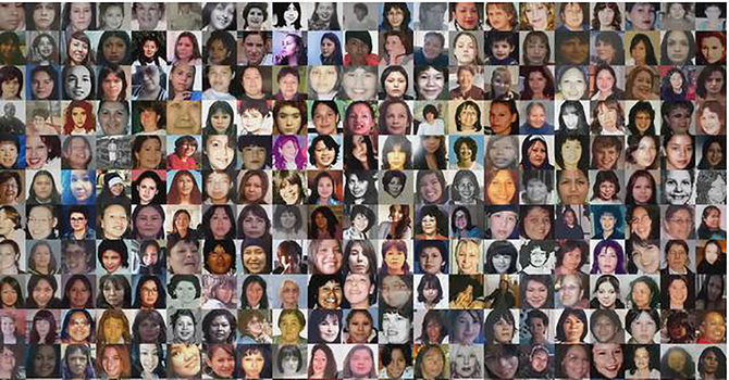 Remembering murdered and missing aboriginal women