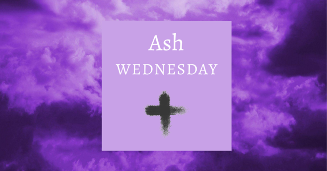Ash Wednesday 2021 image