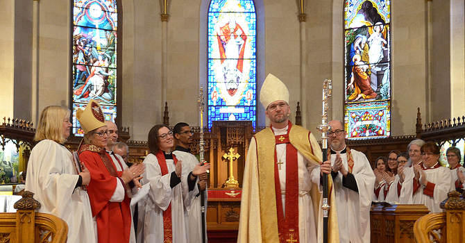 Todd Townshend seated as the 14th Bishop of Huron