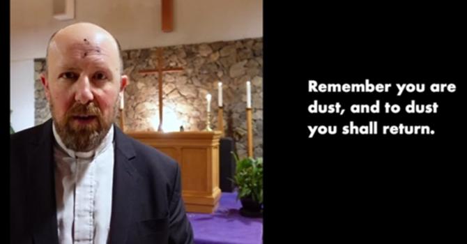 St Dunstan's Ash Wednesday service
