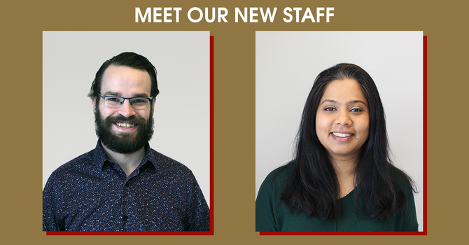 Meet Our New Staff Members