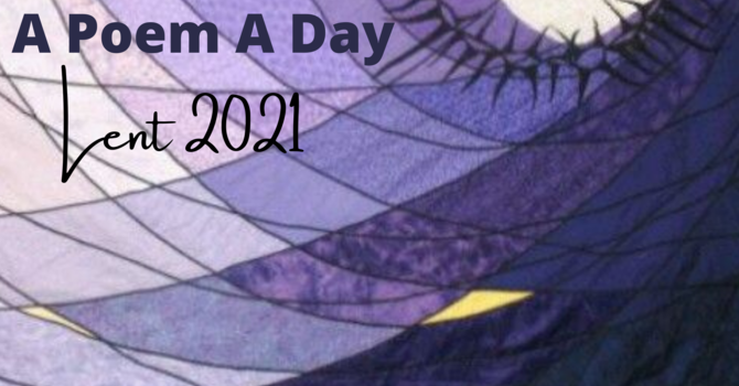 A Poem A Day for Lent 2021 image