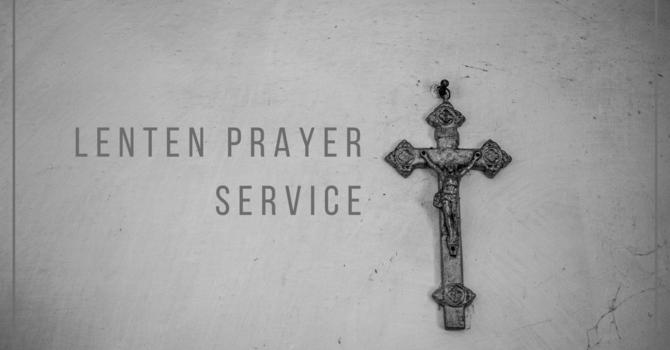 Register for Lenten Prayer Service