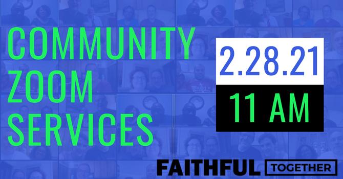 Community Zoom Sunday Church Service