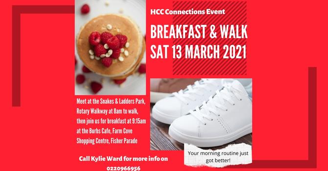 HCC Connections Event - Breakfast & Walk
