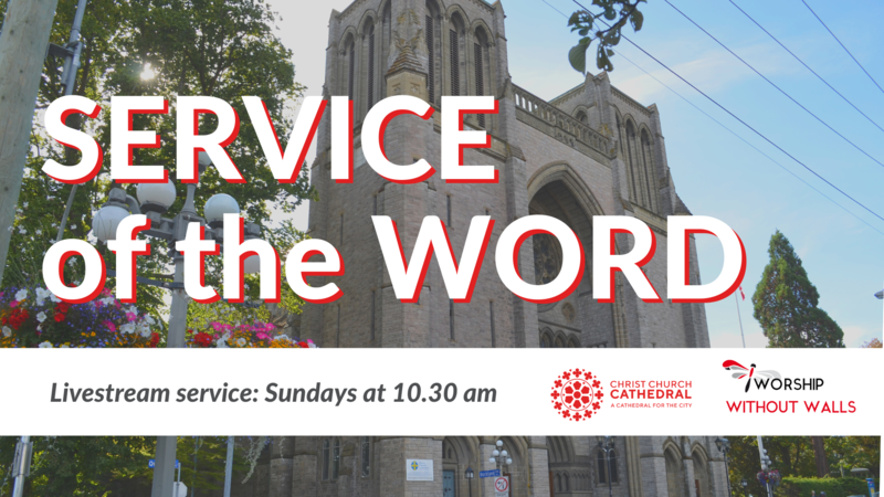Service of the Word, February 21, 2021