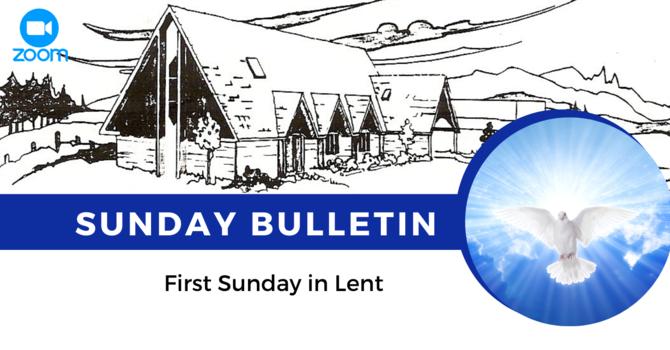 Bulletin - Sunday, February 21, 2021