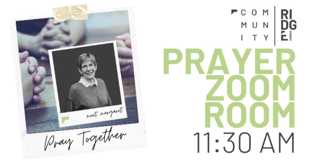 PRAYER ZOOM ROOM | After Service