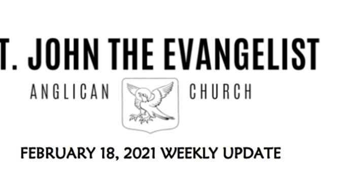 Weekly Update - February 18, 2021 image