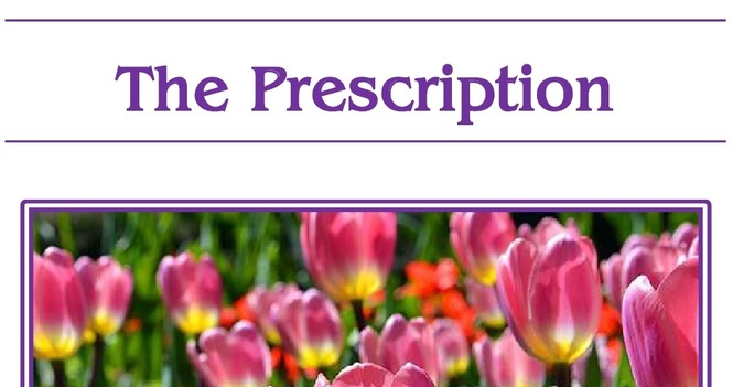 March 13th is the Deadline for the Easter Edition of St. Luke's Prescription