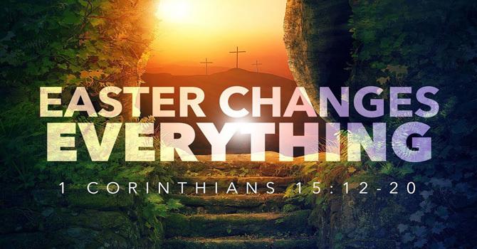Easter Sunday Worship Service