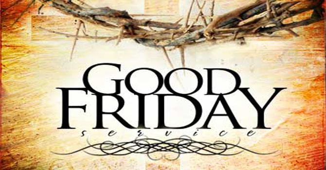 Good Friday Online Service
