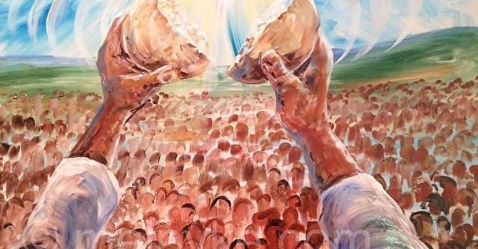 John 6:1-14 Sermon, Announcements and Prayers of the People image
