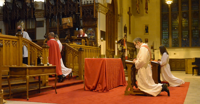 Ordination service at St. Paul's Cathedral, November 19 image