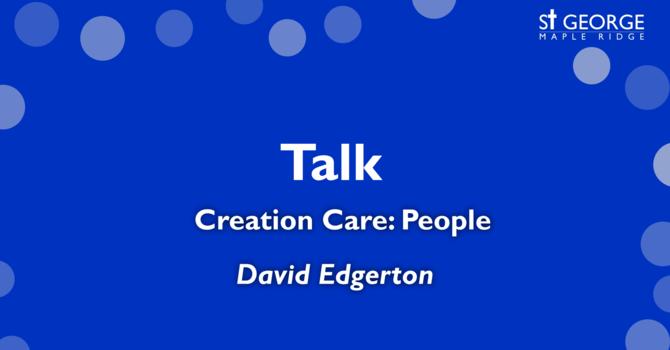 Creation Care: People image