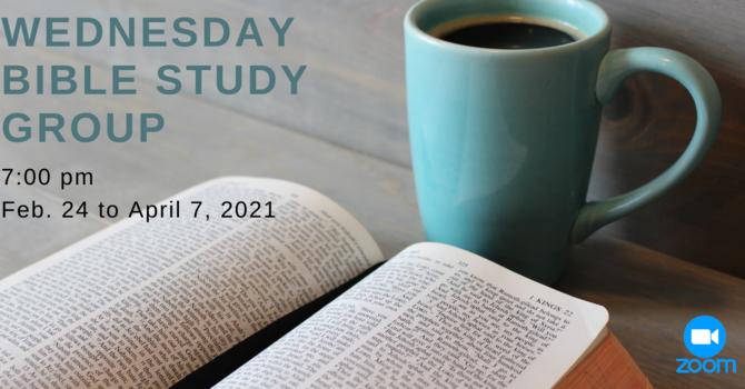 Wednesday Evening Bible Study Group