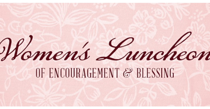 Women's Ministry Service & Meal image