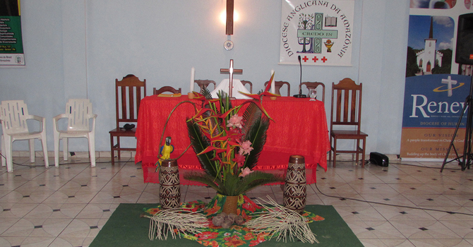 Lockdown in our fellow Diocese of Amazonia