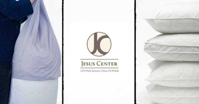 Pillows and Pillow Cases for the Jesus Center image