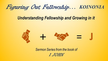 FIGURING OUT FELLOWSHIP
