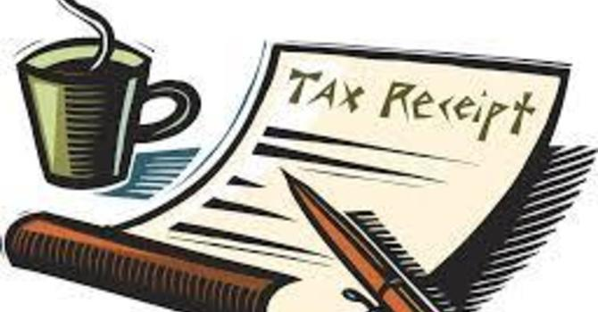 Tax Receipts!
