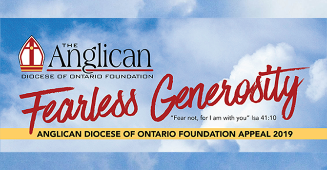 Diocese of Ontario Foundation grant deadline image
