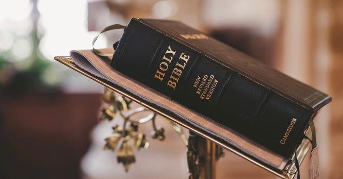 La Biblia, nuestra única –y absoluta—fuente de autoridad image