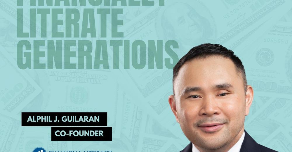 Alphil Guilaran podcast — Building Financially Literate Generations