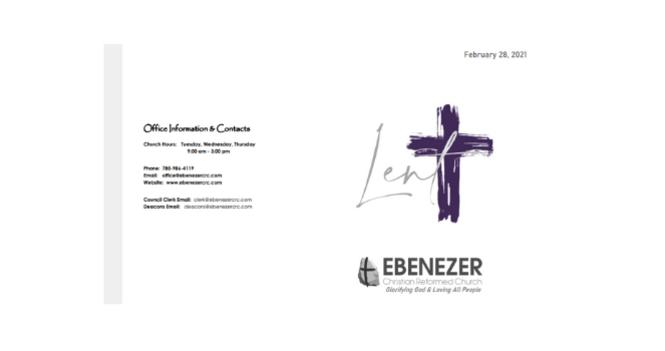 February 28, 2021 Bulletin