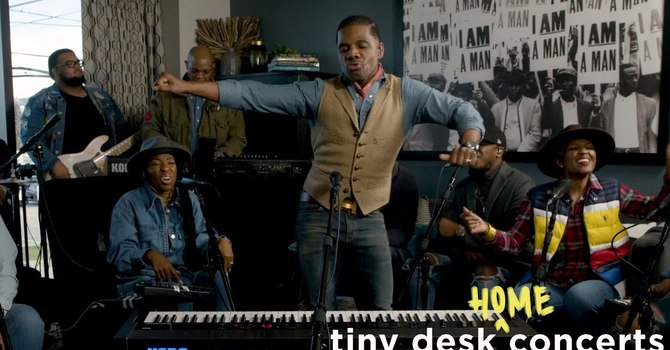 Thoughtful Thursday: Tiny Desk Concert with Kirk Franklin image