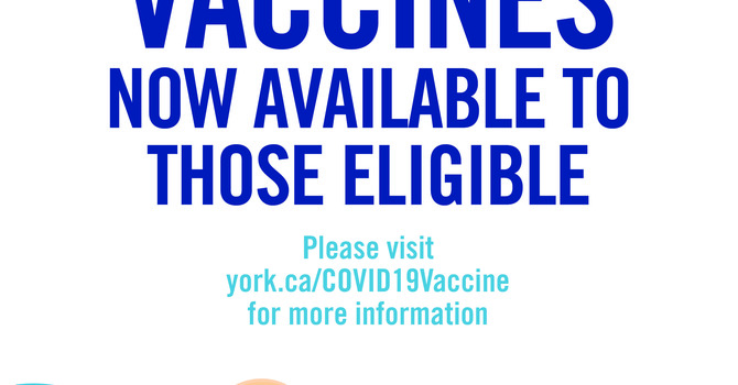 York Region COVID-19 Vaccine Program  image