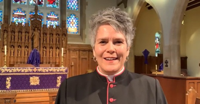 The Dean's  Charge to Vestry 2021