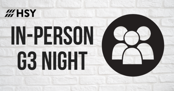 In-Person Small Group Night